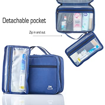 f1fb2d7146 Amazon.com   Hanging Toiletry Travel Bag by GYNOM