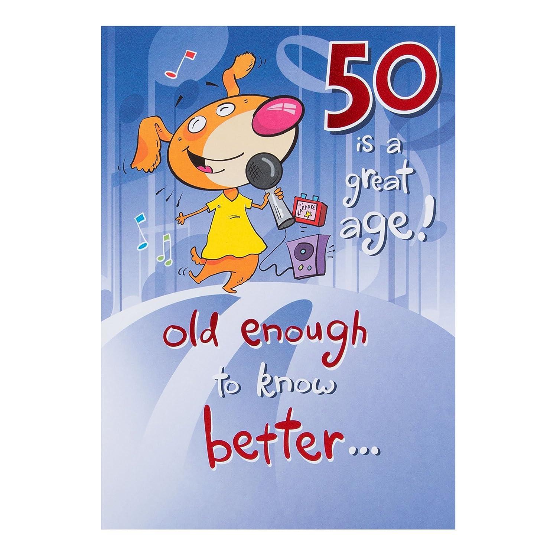 Hallmark 50th Birthday Card50 Is A Great Age