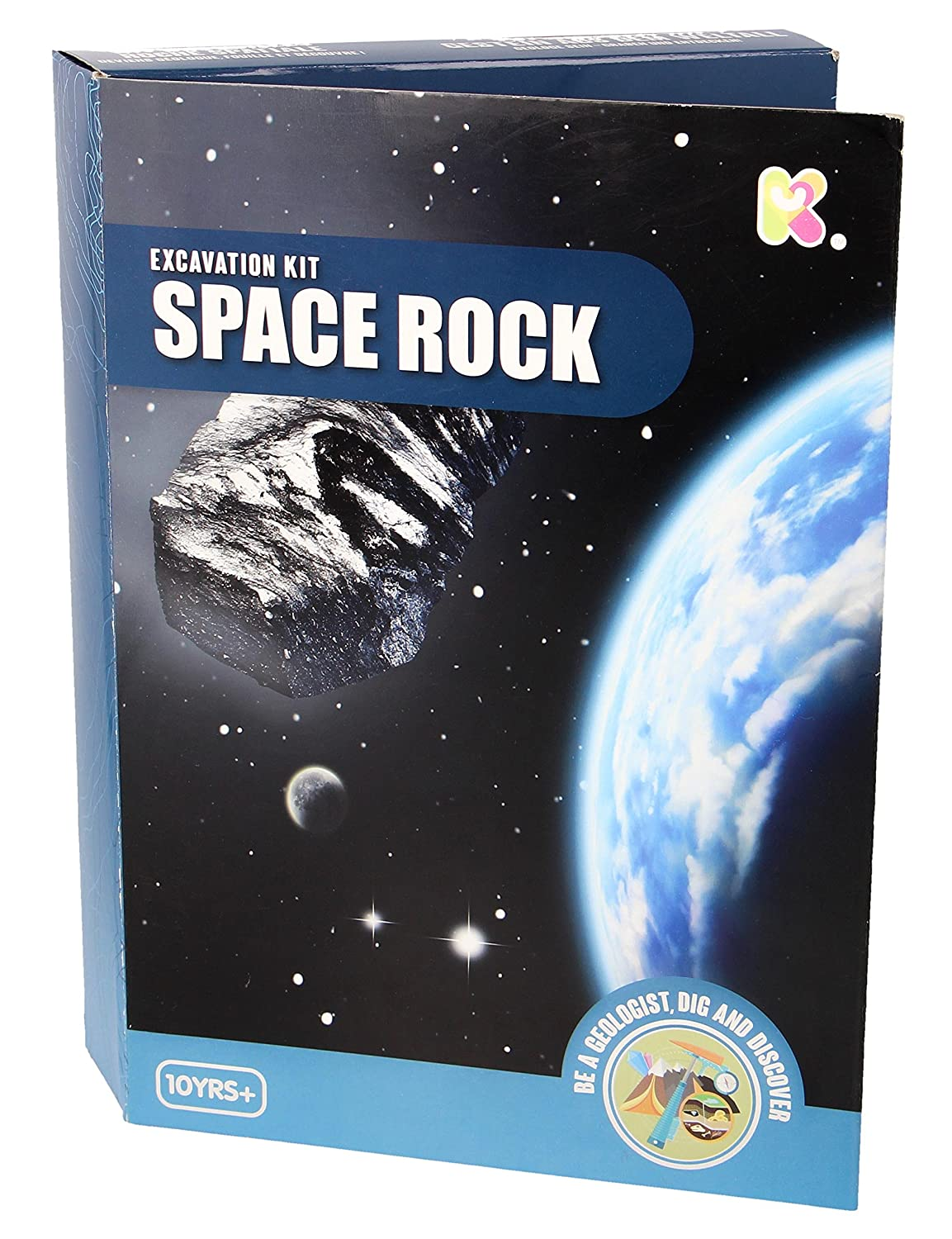 Fun Educational Gift For Boys & Girls - Space Rock Excavation Kit Ages 10+ Kenzies Gifts