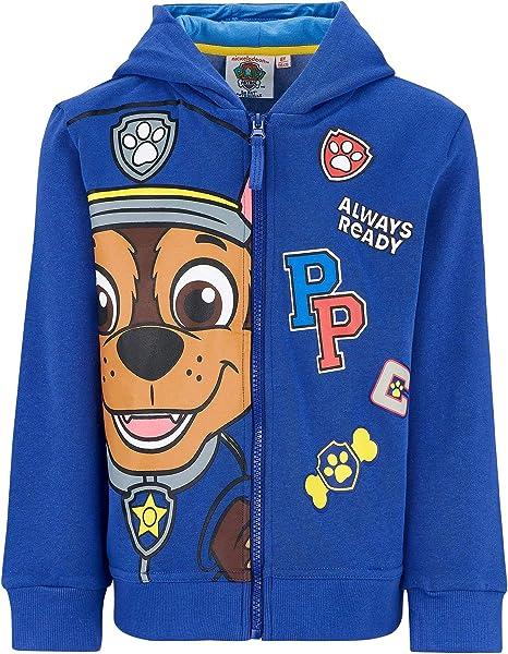 blu colore Paw Patrol Felpa da ragazzo
