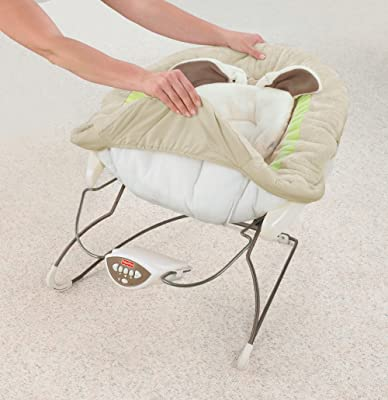 Fisher- Price My Little Snugabunny Deluxe Bouncer review