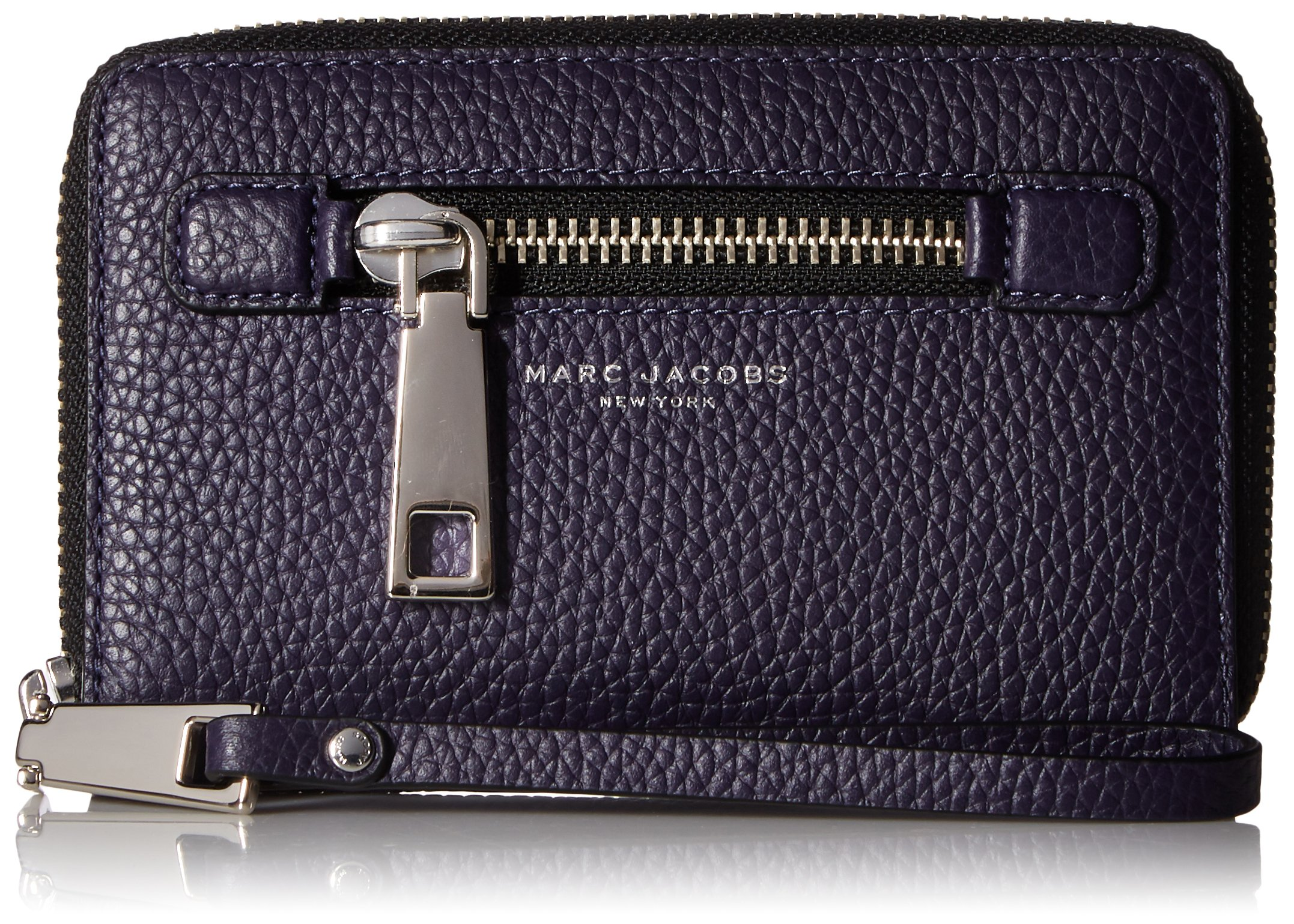 Marc Jacobs Gotham Zip Phone Wristlet, Nightshade