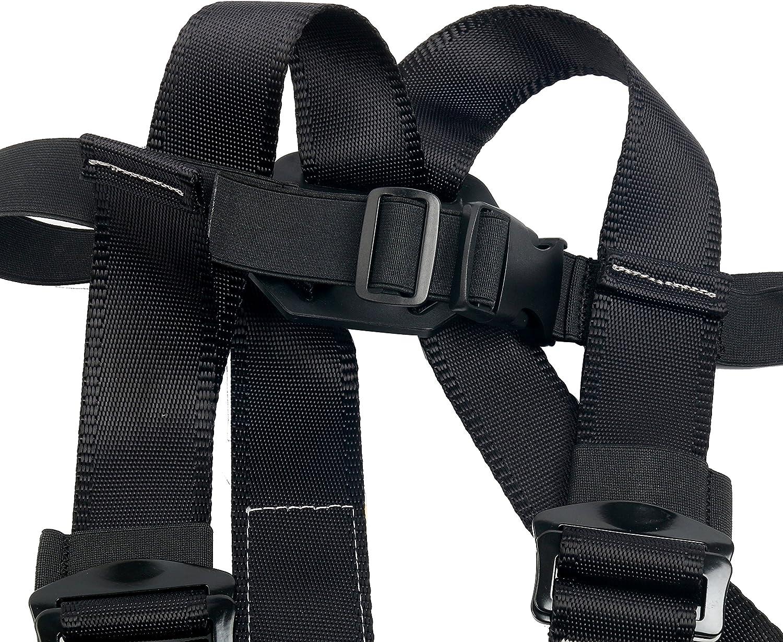 lescalade ceinture de s/écurit/é Oumers Harnais guide pour la bande ext/érieure la sp/él/éologie harnais complet pour le corps 3 type YaeTact Harnais descalade pour enfants le rappel s/écurit/é confortable