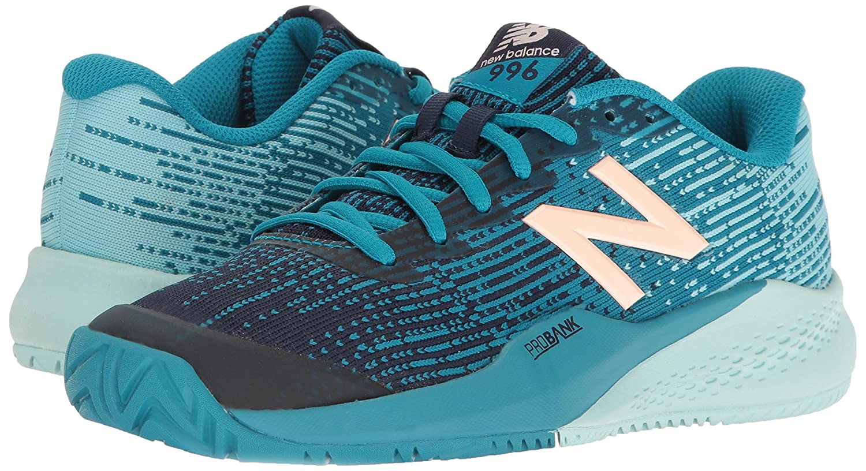 New Balance de las mujeres wc996 V3 - Zapatillas de tenis, Shoe Size- 5 UK, Color- White/Black