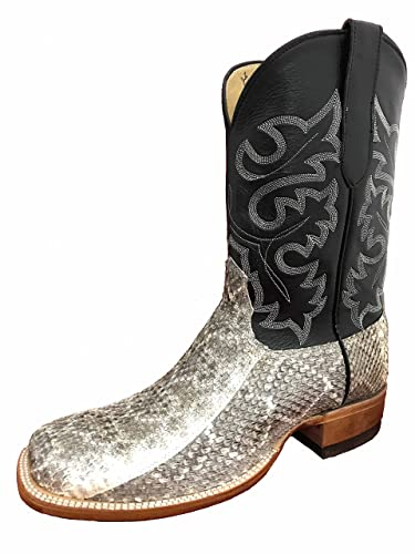 Cowtown Rattlesnake Square Toe Cowboy Boot  Z1E4SQYL0