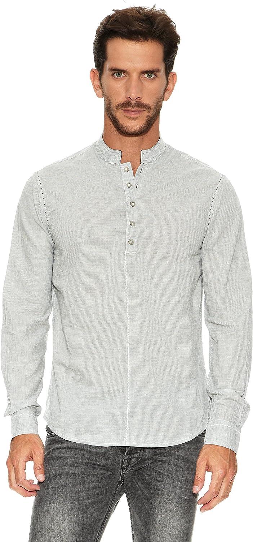 Desigual Camisa Ossom Rep: Amazon.es: Ropa y accesorios
