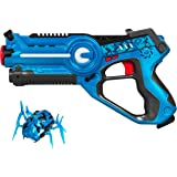 Best Choice Products Kids Laser Tag Set With Machine Beetle Toy Blasters w/ Multiplayer Mode