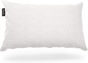 Cosy House Collection Luxury Bamboo Shredded Memory Foam Pillow - Adjustable Fill - Cool & Breathable Removable Hypoallergenic Cover with Zipper Closure - King