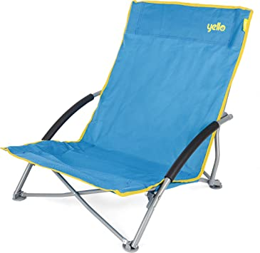 2x Camping Chair Foldable Outdoor Festival Beach Collapsible Folding Chair New