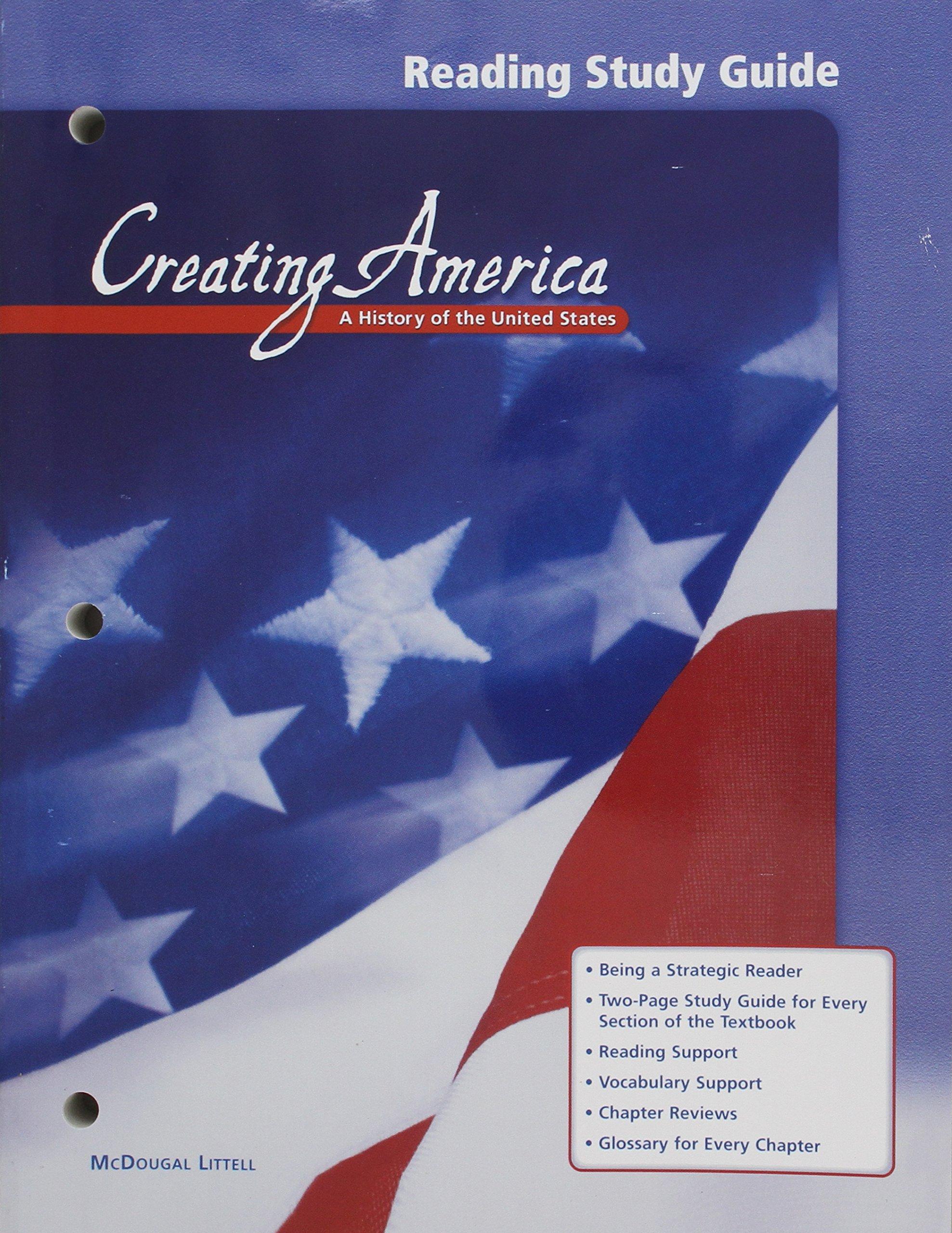 Read Online Creating America: Reading Study Guide pdf epub
