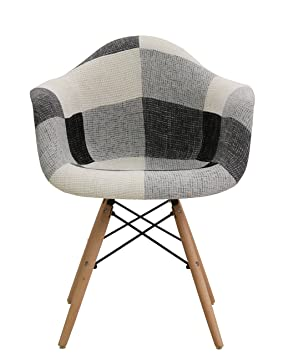 Thomas Wood Fauteuil Patchwork Multicolore