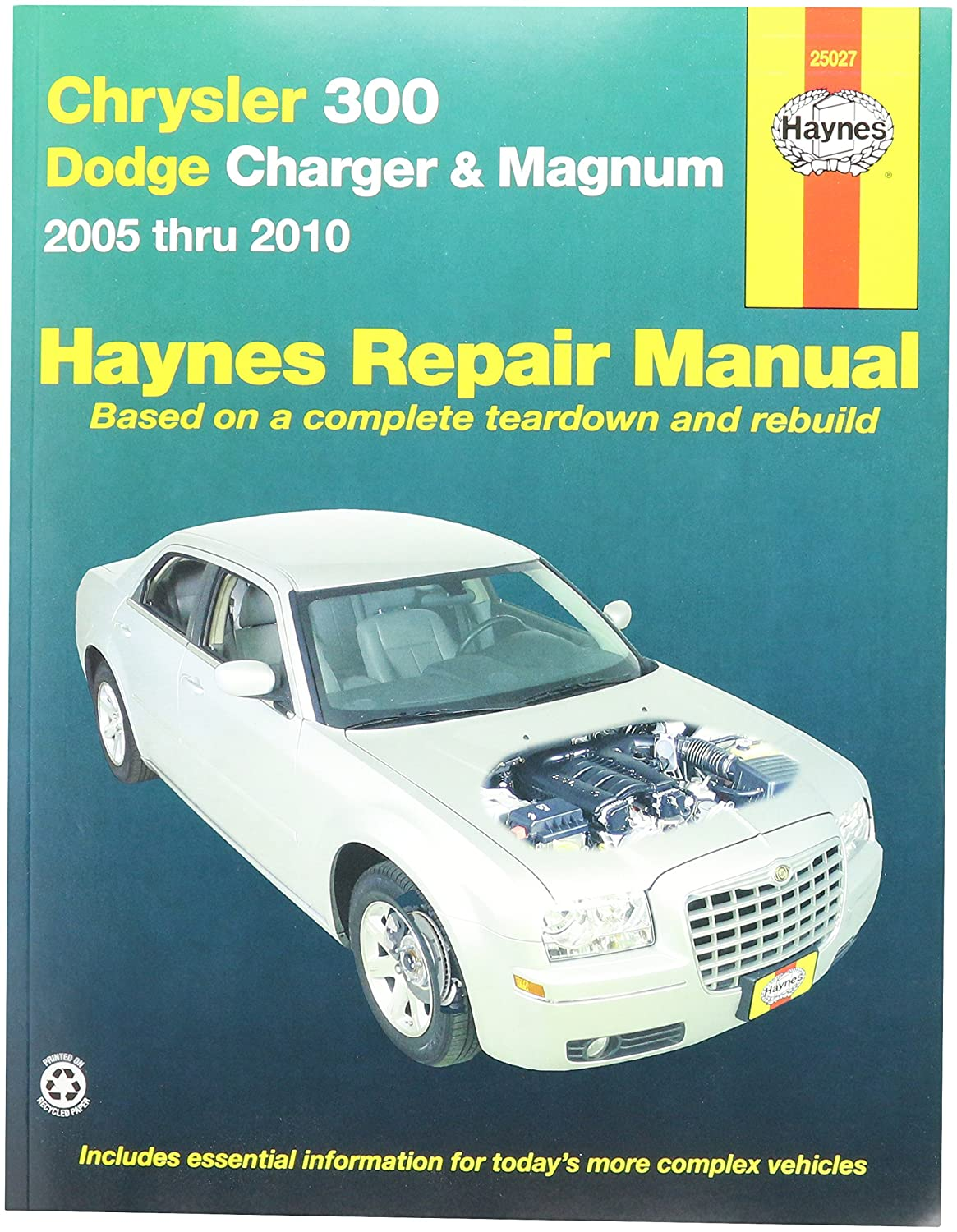 Amazon.com: Haynes Publications, Inc. 25027 Repair Manual: Automotive.  Enlarge Chrysler .
