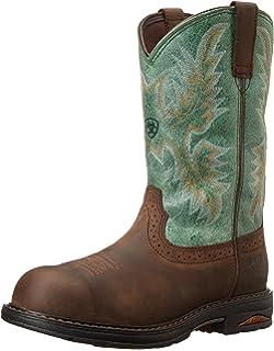 Amazon.com | Ariat Women's Fatbaby Cowgirl Steel Toe Western ...