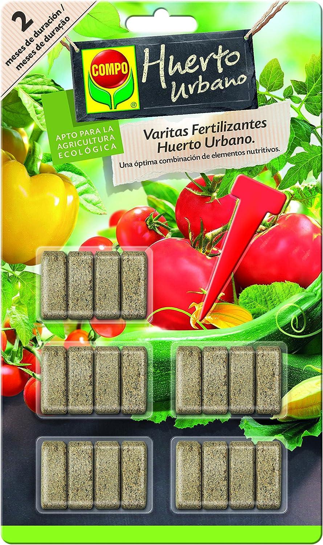 Varitas fertilizantes huerto y frutales Compo, 20 ud: Amazon.es ...