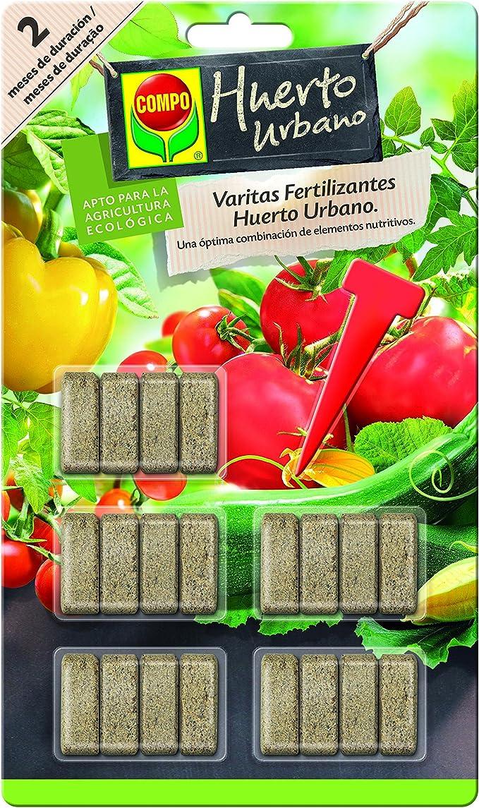 Compo Varitas Fertilizantes para Tomates y hortalizas de 2 Meses ...