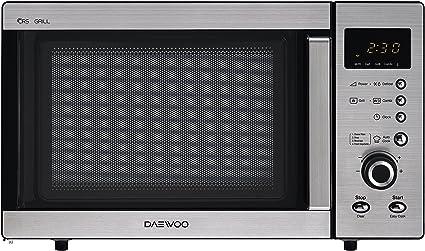Daewoo KOG-A8B5R Microondas, 23 litros, con grill, inoxidable: Amazon.es: Hogar