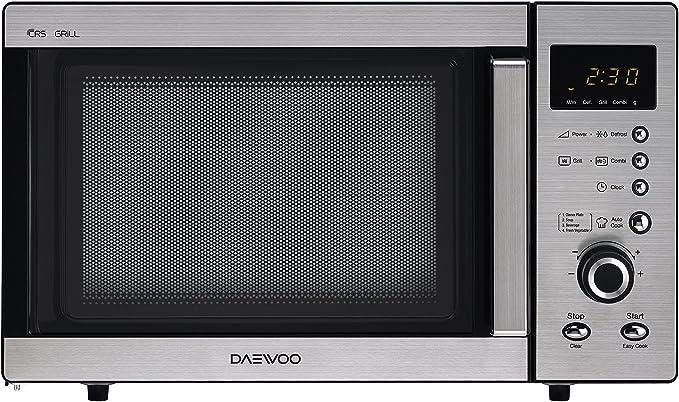 Daewoo KOG-A8B5R Microondas, 23 litros, con grill, inoxidable ...