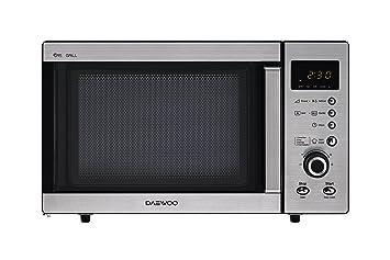 Daewoo Kog A8b5r Micro Ondes Avec Grill En Acier Inoxydable 23 L