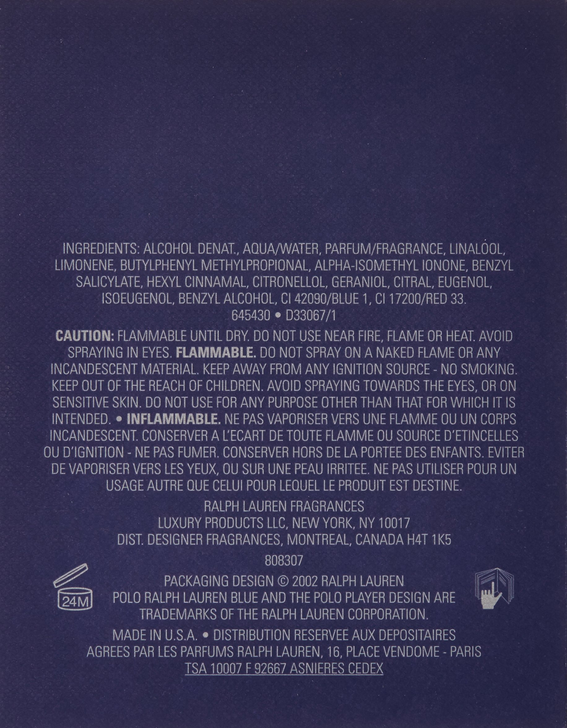 Polo Blue by Ralph Lauren for Men, Eau De Toilette Natural Spray, 4.2 Ounce by RALPH LAUREN (Image #2)