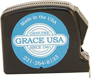 product image for Grace USA - Measure Tape, 12-Feet - TM12 -Gunsmithing - Tape Measure - 12 feet - Home Care Tools & Accessories