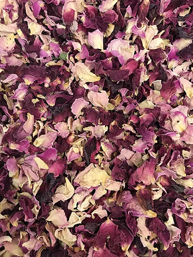 1 litro de p/étalos de flores secas naturalmente de flores delfinio//espuela de caballero confeti para bodas