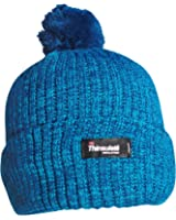 Women's Thermal Marl Knit Chunky Winter Bobble Hat