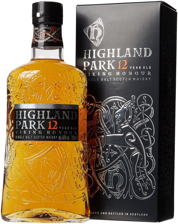 755beb295ac Highland Park 12 Year Old Orkney Malt Whisky Bottle