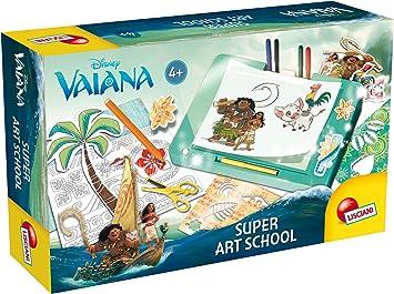 Lisciani Giochi 56095 - Set de Dibujo Vaiana Super Art School: Amazon.es: Juguetes y juegos