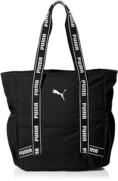 PUMA bolsa de viaje para mujer - Negro - talla única: Amazon ...