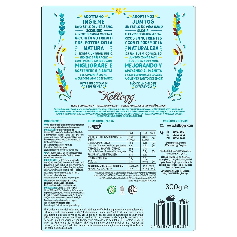 Kelloggs Cereales sin Azúcar Añadido Frutos Secos - 300 gr: Amazon.es: Amazon Pantry