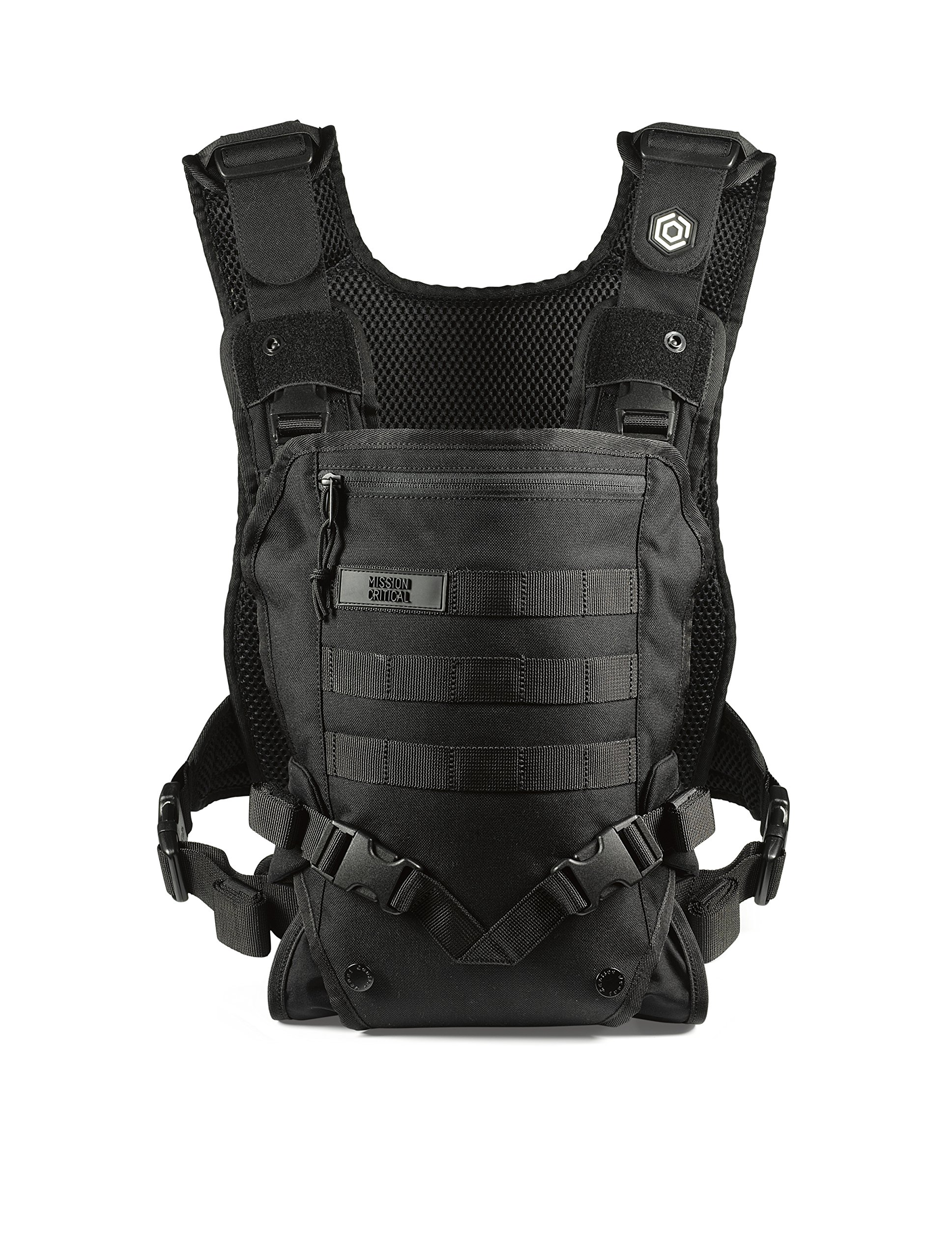 7028bf86012 Amazon.com   Men s Baby Carrier - Front Baby Carrier - Baby Carrier for  Dads - by Mission Critical - Black   Baby