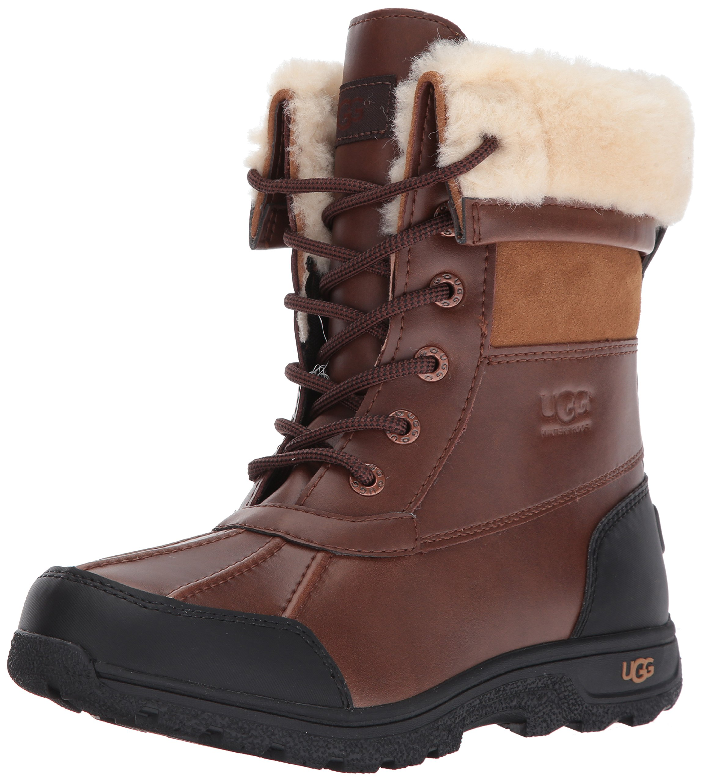 K BUTTE II Lace-Up Boot, Worchester, 5 M US Big Kid