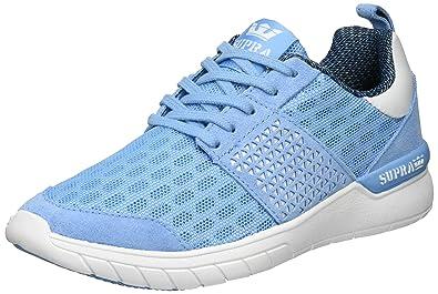 4a4929164826 Supra Women s Scissor Blue White Athletic Shoe