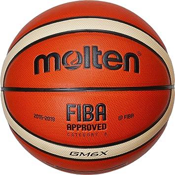 Amazon.com: Molten GM6 X Baloncesto (BGM6 X) Composite piel ...