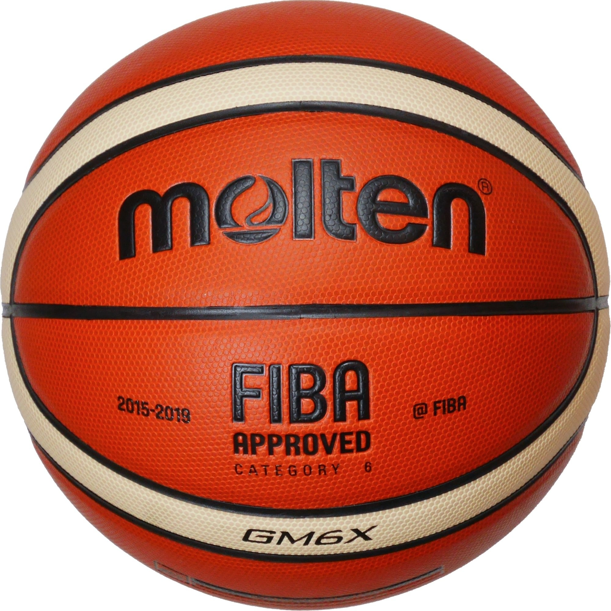 Molten GM6X Basketball (BGM6X) Composite Leather FIBA Approved Size 6 by Molten