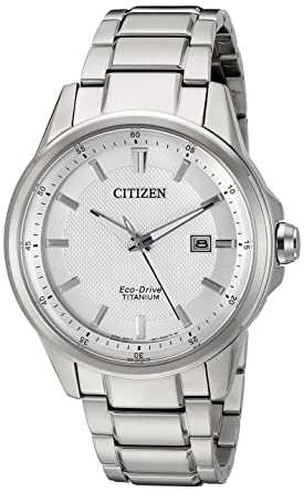 Citizen Men's Eco-Drive Stainless Steel Day-Date Watch