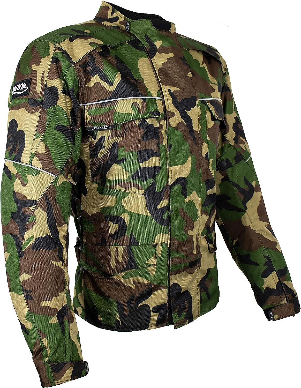 Mdm Textil Motorrad Jacke Motorradjacke Camouflage Wasserdicht Wärmeschutzjacke 4xl Auto