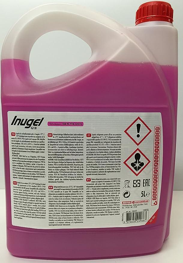 Motul 104377 Inugel Frost Protection G13 37 5 L Auto