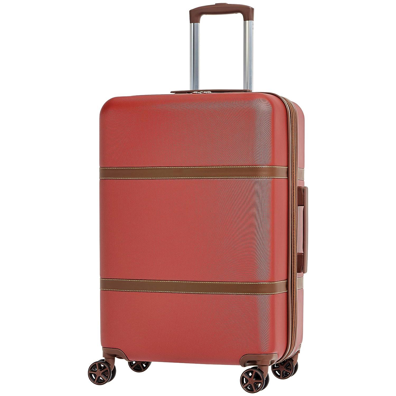 AmazonBasics Vienna Luggage Expandable Suitcase Spinner