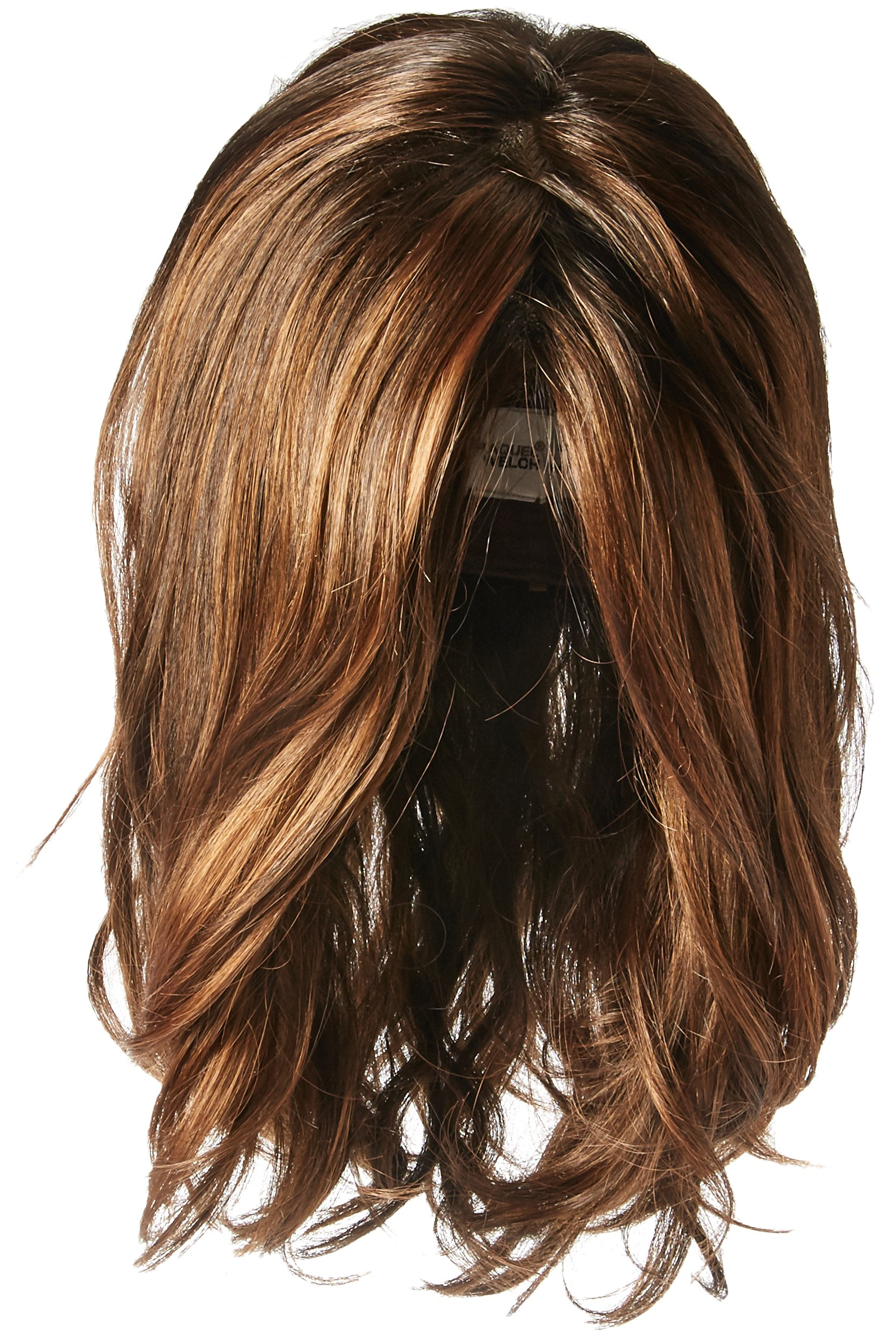 Hairdo Love Love Love Long Full Length Straight Hair With Soft Natural Wave Highlights, ss9/30 Cocoa by Hairuwear by Hair u wear