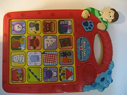 mailbox blues clues toy. Simple Toy Blueu0027s Clue Blues Press U0026 Guess Game In Mailbox Clues Toy