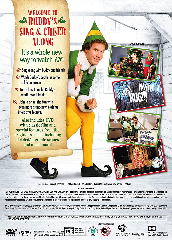 Amazon.com: Elf: Buddy\'s Sing & Cheer Along Edition: David Berenbaum ...