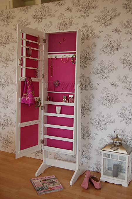 Sensational Jewellery Cupboard With Mirror Country Cottage Style Mirror Home Interior And Landscaping Ologienasavecom