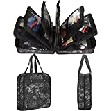 PACMAXI Sewing Accessories Storage Bag, Knitting, Craft Tools and Accessories Organizer, Roomy Carrying Bag for Sewing Tools