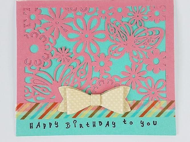 Happy Birthday Card Lattice Package Of 1