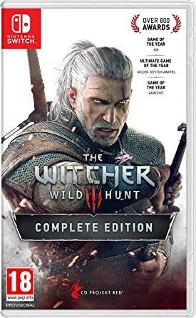 The Witcher 3 Wild Hunt Complete Edition - Nintendo Switch ...