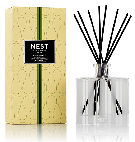 NEST Fragrances Reed Diffuser- Grapefruit, 5.9 fl oz