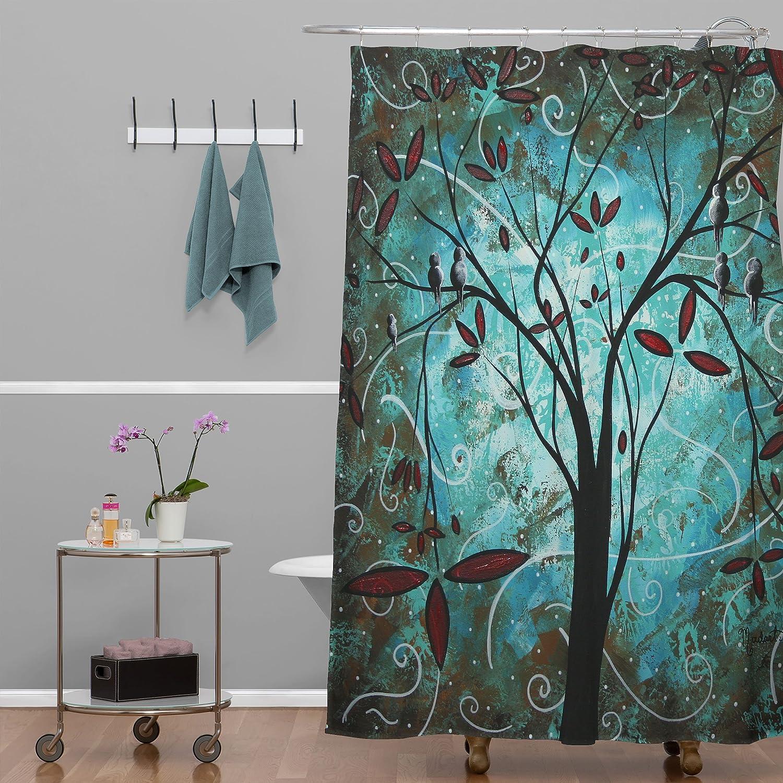 Romantic shower curtain - Amazon Com Deny Designs Madart Inc Romantic Evening Shower Curtain 69 X 72 Home Kitchen