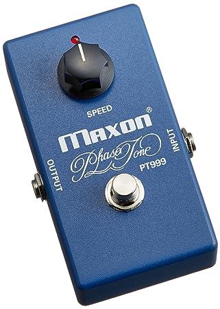 Maxon PT999 Phase Tone · Pedal guitarra eléctrica: Amazon.es: Instrumentos musicales