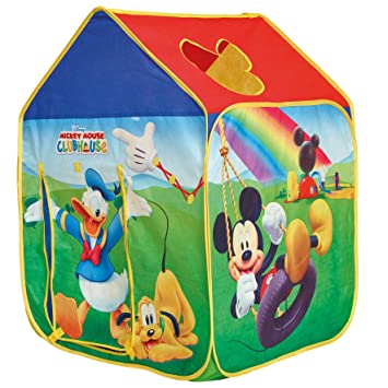 GetGo Mickey Mouse Wendy House Play Tent  sc 1 st  Amazon UK & GetGo Mickey Mouse Wendy House Play Tent: Amazon.co.uk: Toys u0026 Games